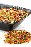 Mixture of spices in a bowl. Royalty Free Stock Photography