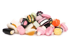 Mixture of sweets Stock Photos