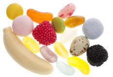 Mixture of sweets Stock Images