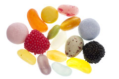 Mixture of sweets Royalty Free Stock Photos