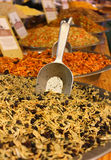 Mixture of various herbs and spices Stock Image
