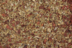A mixture of vegetable seeds  background Royalty Free Stock Photography