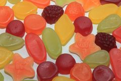 Mixure of candy Stock Images