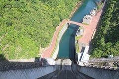 Miyagase水坝 库存图片