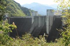 Miyagase水坝 免版税库存图片