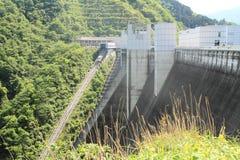 Miyagase水坝 免版税库存照片