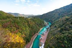 Miyagasedam in de Herfst stock foto's