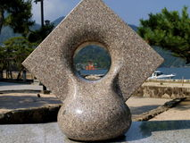 Miyajima brama Obraz Stock