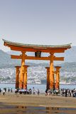 Miyajima, Famous big Shinto  Stock Image