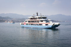 Miyajima Ferries, Japan Stock Photography