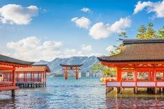 Miyajima, Hiroshima, Japão fotos de stock royalty free