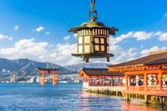 Miyajima Hiroshima, Japan royaltyfri foto