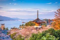 Miyajima, Hiroshima, Japan Royalty Free Stock Images