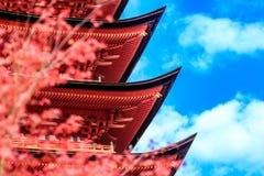 Miyajima. Pagoda at Toyokuni Shrine in Miyajima Stock Photography