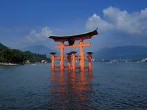 Miyajima-Tor Stockbilder