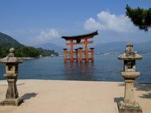 Miyajima-Tor Lizenzfreies Stockbild