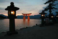 Miyajima Tori, Hiroshima Royalty Free Stock Photography