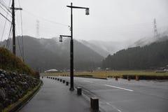 Miyama村庄在京都,日本 免版税库存照片
