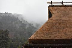 Miyama村庄在京都,日本 库存图片