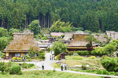 Miyama村庄 免版税库存照片