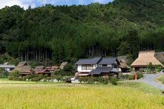 Miyama-Dorf in Japan Stockbilder