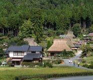 Miyama-Dorf in Kyoto von Japan Lizenzfreies Stockbild