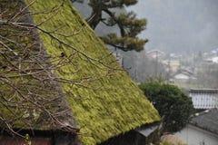 Miyama by i Kyoto, Japan Royaltyfri Foto