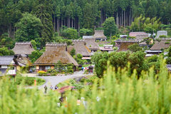 Miyama village. Miyama farm village with soft focus foreground in Kyoto, Japan Stock Images