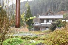 Miyama wioska w Kyoto, Japonia Zdjęcia Royalty Free