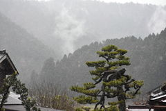 Miyama wioska w Kyoto, Japonia Obraz Royalty Free