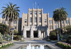 Miyazaki de Zaal van de Prefectuur royalty-vrije stock afbeelding