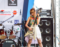 Miyazawa Marin (Guitar) from LoVendor Group Royalty Free Stock Photos