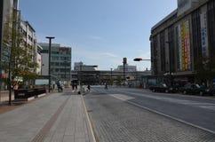 Miyuki Dori Street i Himeji-stad Royaltyfri Bild
