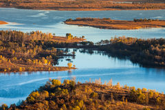 Miyun Reservoir Autumn. Eastphoto, tukuchina,  Miyun Reservoir Autumn Royalty Free Stock Photo