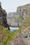 Mizen在大西洋海岸的头峭壁 库存照片
