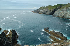 Mizen Head cliffs Royalty Free Stock Photography