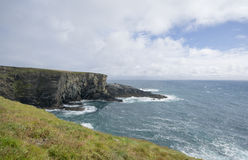 Mizen Head, Ireland. A view to the south of the cliffs of Mizen Head, Ireland Royalty Free Stock Photo