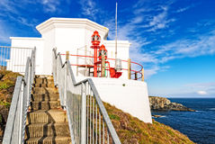 Mizen Head Lighthouse, County Cork, Ireland. Lighthouse overlooking the atlantic coast at Mizen Head, County Cork, Ireland Stock Photography