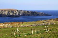 Mizen head scenery. Rocky coast scenery in Ireland Royalty Free Stock Image