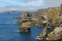 Mizen Head seascape Royalty Free Stock Images