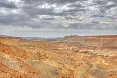 Mizpe Ramon Canyon, Israel Stock Photography