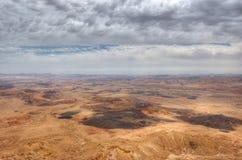 Mizpe Ramon Canyon, Israel stock photos