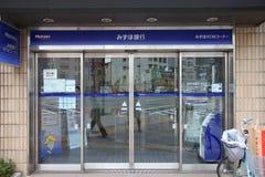 Mizuho Bank Arkivfoto