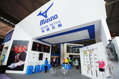 Mizuno stand,never settle Stock Images