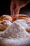 Mjöl och bröd Royaltyfri Foto