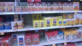 Mjöl som säljer på lagret Arkivbild