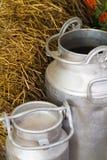 Mjölka behållare royaltyfri fotografi