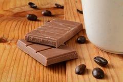 Mjölka chokladstången royaltyfria bilder