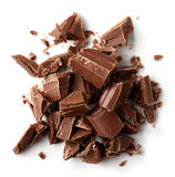 Mjölka chokladstycken Royaltyfria Bilder