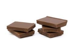 Mjölka chokladstycken Royaltyfri Bild